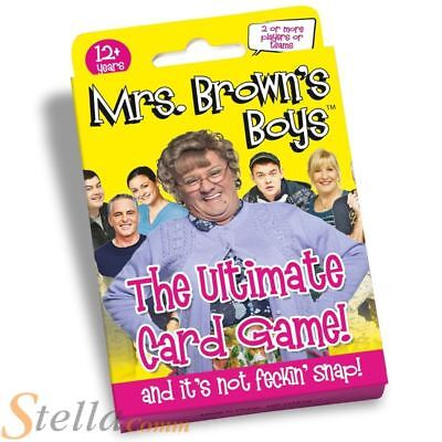 Paul Lamond Mrs Brown's Boys The Ultimate Card Game BRAND NEW