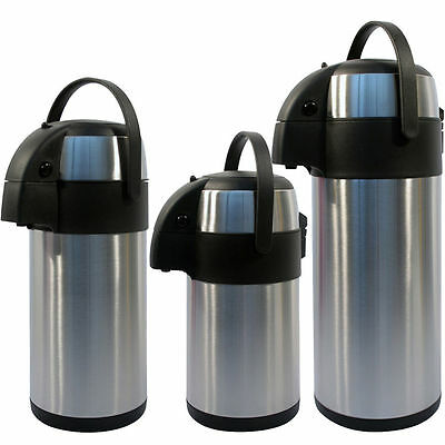 3L/5L Litre Stainless Steel Airpot Vacuum Flask Thermos Jug with Pump Action