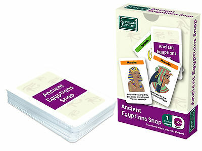 Acient Egyptians Snap and Pairs Card Game - Educational Game for Children 7+ Yea