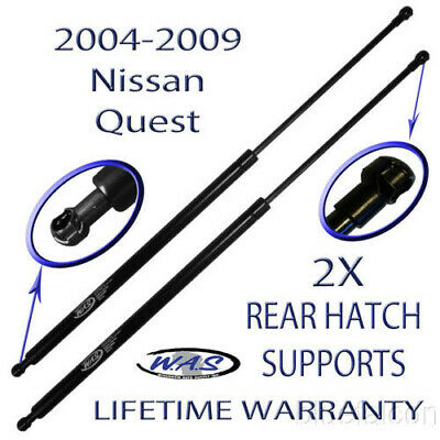 Two Rear Door Hatch Liftgate Lift Supports Shock Rod For 04 05 06 07 08 09 Quest