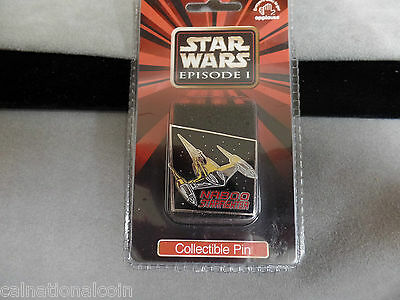 Star Wars Episode 1 Cloisonne Pin Naboo Straighter unopened package