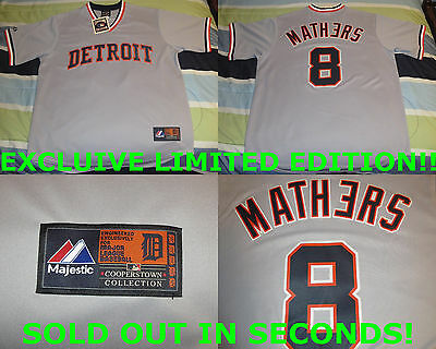 EMINEM Detroit Exclusive Tigers Jersey X-Large Extra Large NEW SUPER RARE #8