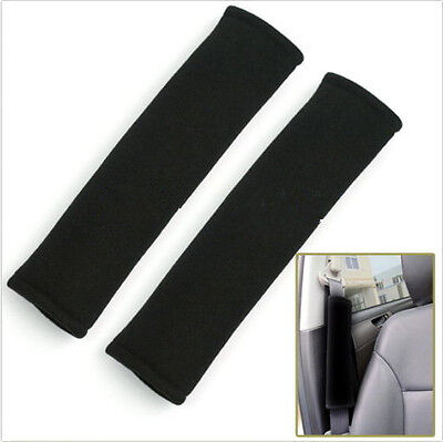 1 Pair Car Safety Seat Belt Shoulder Pads Cover Cushion Harness Pad NEW acx