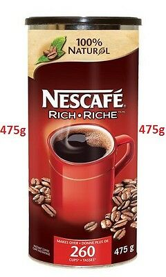 475g. Nescafe Nestle Classic Instant Coffee, Makes 260 Cups Factory Sealed Fresh