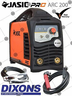 Jasic PRO ARC 200 amp 230v Stick MMA Invertor Electrode Holder LIFT TIG Welder