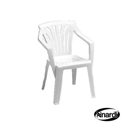 Nardi Ariel Stackable Kiddy Arm Chair (Set of 2) Frame Finish: White
