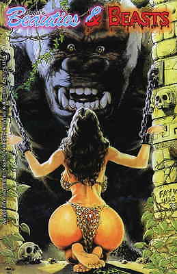CAVEWOMAN BUDDS BEAUTIES AND BEASTS #2 Budd Root Special Edition NUDE NM New