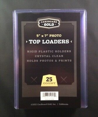 150 5x7 Ultra CBG Premium Pro Hard Rigid Toploaders Photo Topload Holders - New