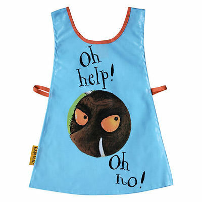 The Gruffalo Blue Childrens Art/Craft Waterproof Painting Tabard Apron by Shred