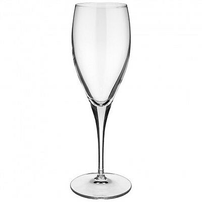 Villeroy & and Boch TORINO champagne flute glass 215mm NEW NWL