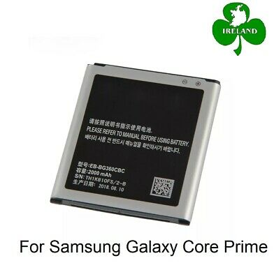 New  Battery For Samsung Galaxy Core Prime G360 G361 2000mAh
