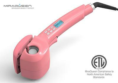 Curling Iron, Miraqueen Steam Curling Wand Hair Curler with Ceramic Curler