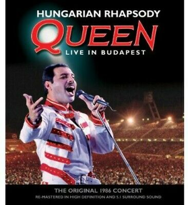 Queen - Hungarian Rhapsody: Queen Live In Budapest (2012, BLU-RAY NEW)