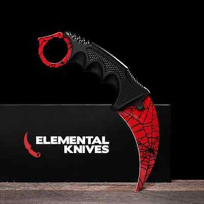 ELEMENTAL KNIVES BLACK Pearl Real CSGO Knife Skin Counter