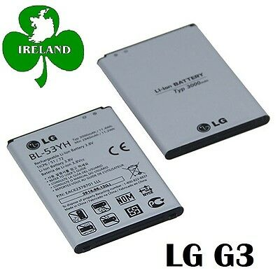 FOR LG G3 D850 D855 NEW GENUINE INTERNAL BATTERY REPLACEMENT BL-53YH 3000mAh