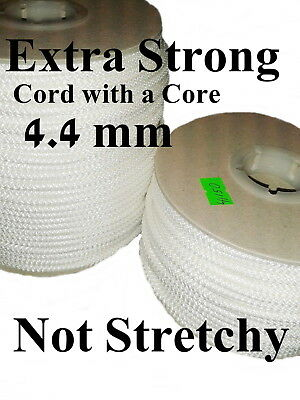 Polyrope Washing Clothes Line Extra Strong Braided Cord Polyester Core 4.4mm