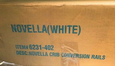 Creations Baby, Novella conversion Adult Rails-White model# 6231-402 WH