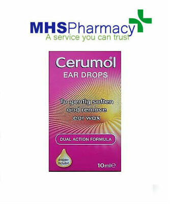 Cerumol Ear Drops 10ml new design and ingredients