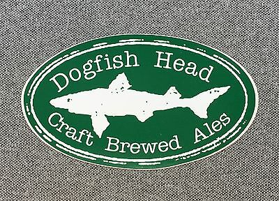 Dogfish Head Brewery Sticker Decal 4.3in Brewing si