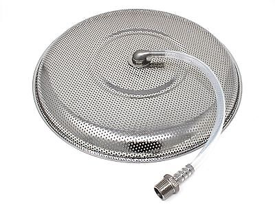 CONCORD Stainless Steel Universal False Bottom Home Brew Kettle to Mash Tun