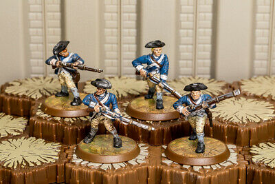 4th Massachusetts Line - Heroscape - Wave 2 - Utgar's Rage - Free Ship Available