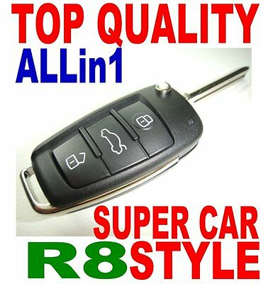 Super Car R8 Style Flip Key Remote For Bmw Virgin Chip Never Been Coded Fob E6