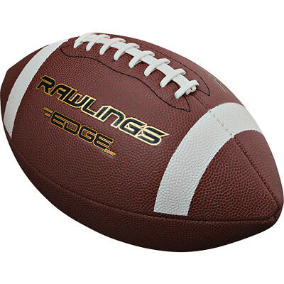 Rawlings Edgecomp Soft Touch Composite Game Football-Official Size NFHS