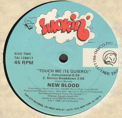NEW BLOOD - Touch Me (Te Quiero) - Smokin