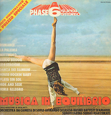 VARIOUS - Musica In Equilibrio - Phase 6 Super Stereo