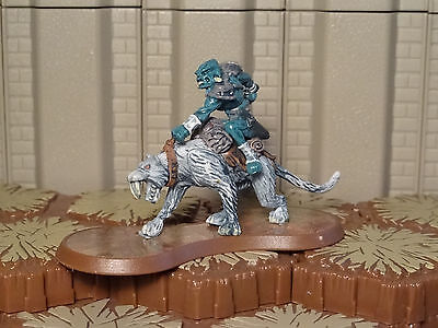 Nerak the Glacian Swog Rider - Heroscape - Wave 10 - Free Ship Available