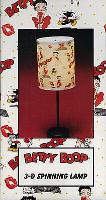 Betty Boop Collectible: 3d Spinning Lamp.