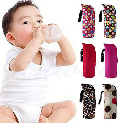 Portable Baby Feeding Milk Bottle Warmer Thermal Mummy Insulation Tote Carry Bag