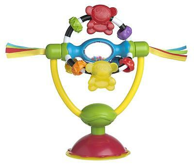 Brand NEW Playgro High Chair Baby Rattle Spinning Toy 6m+