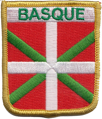 France Basque Region Flag Embroidered Patch Badge