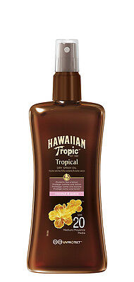 Hawaiian Tropic Protective Dry Sun Tan Oil Spray SPF 20