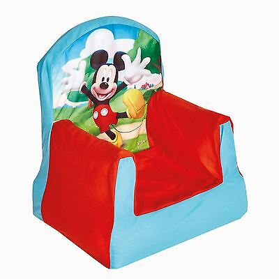 Disney Mickey Mouse Clubhouse Cosy Chair New Inflatable Kids Seating