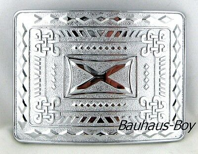 Scottish Saltire St Andrew Kilt Buckle Chrome Finish Highland Kiltwear For Kilts