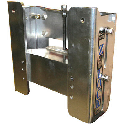 """Marine/Boat Z-Lock - Manual Outboard Jack Plate Up to 300hp V6 with 6"""" Setback"""