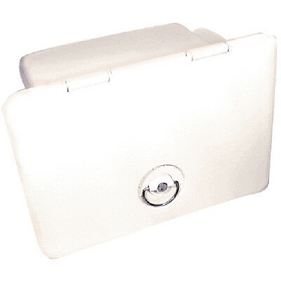 "Marine Fishing Boat Polar White Tackle Box with Trays 13"" x 17"""