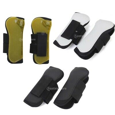 1Pair Neoprene Horse Exercise Jumping Brushing Protection Tendon Boots FULL Size