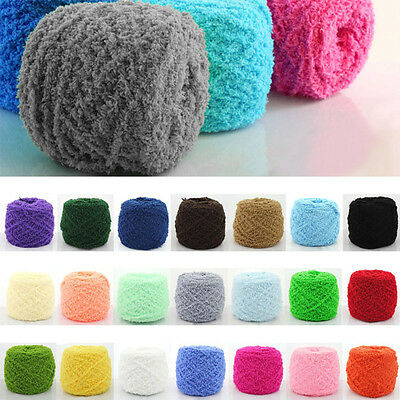 100g Super soft Double Knitting Chunky Towelling Wool Ball Skeins Soft Yarn
