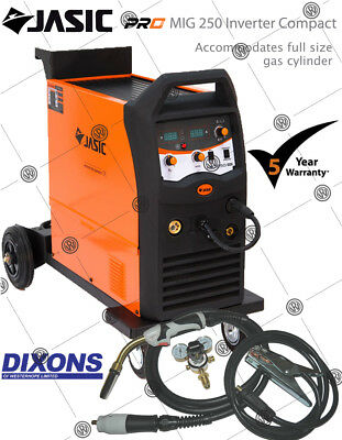 Jasic PRO MIG 250 AMP Inverter Compact Multi Process Welder MMA Stick Machine