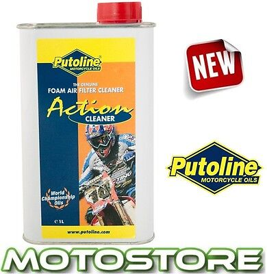 Putoline Action Fluid Cleaner Motorcycle Foam Air Filter 1 Litre