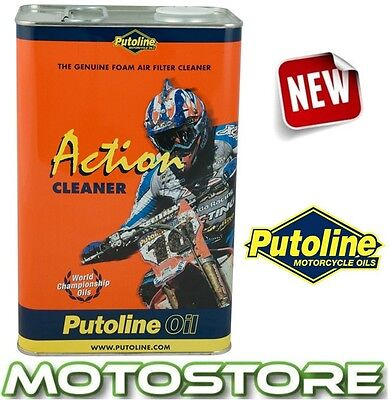 Putoline Action Fluid Cleaner Motorcycle Foam Air Filter 4 Litre