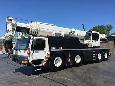 "2001 Liebherr Ltm-1080-1L 80 Metric/100 Us Ton Capacity ""l Model"""