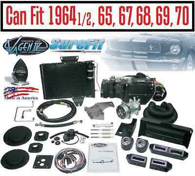 64 to70 Mustang Gen IV SureFit Complete AC Heat Kit Vintage Air Conditioning