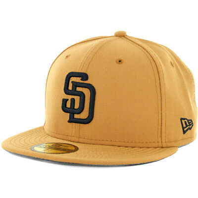 New Era 59Fifty San Diego Padres Fitted Hat Rifle Green/Woodland Camo Cap
