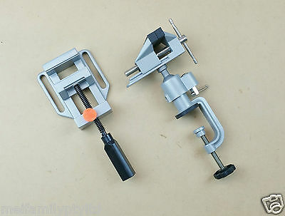 Multi Angle Swivel Table Vice 3D Joint & Drill Press Vice with Quick Release