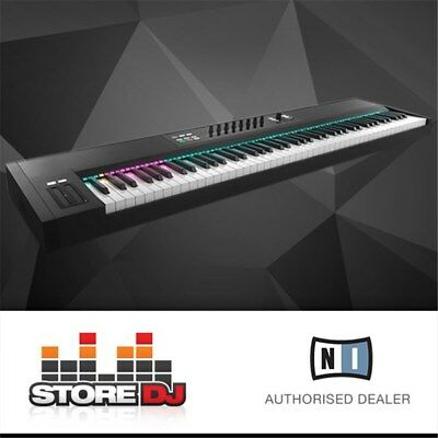 Native Instruments Komplete Kontrol S88 Fully Weighted 88 Note Hammer Action