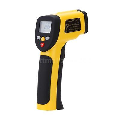 Double Laser Non-contact Digital Infrared Thermometer Pyrometer -50~1050℃ Temp